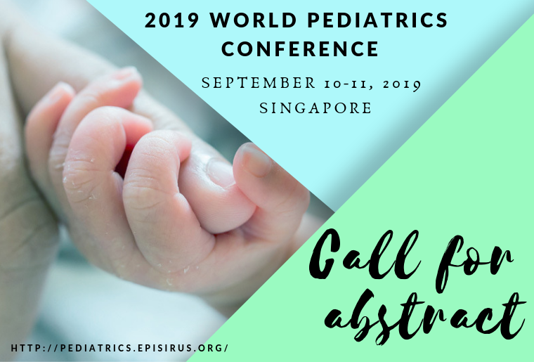 Call for abstract, Pediatrics Conference WPC 2019