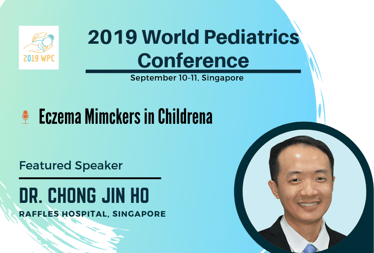 Chong Jin Ho_FEATURED SPEAKER , 2019 World Pediatrics Conference