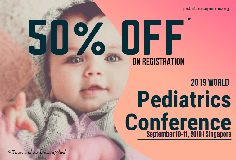50%off in registration , 2019 World Pediatrics Conference-min