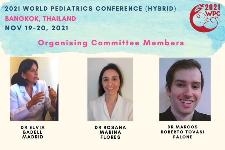2021WPC Pediatrics Conference Organizing Committee members